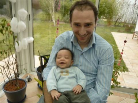 Achille et son Papa