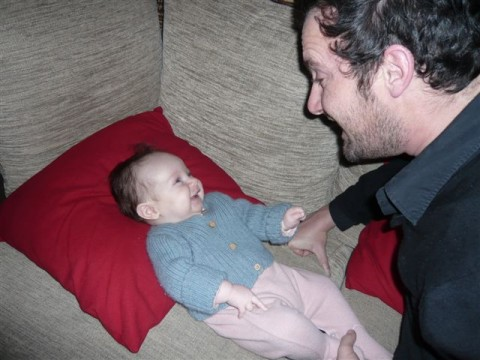 Louise et son Papa