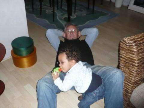 Ah non Grandpi on ne dort pas